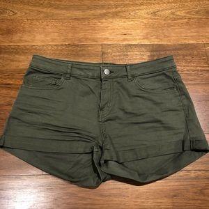 H&M Khaki Shorts